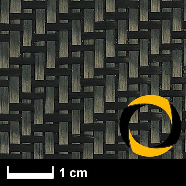 Kohlegewebe 160 g/m² (Aero, Köper) 100 cm